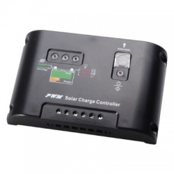 10А контроллер заряда акб от солнечных батарей
