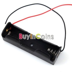 4 X plastic battery storage case box holder for 1 x 18650 (или как сделать самодельное зарядное устройство)