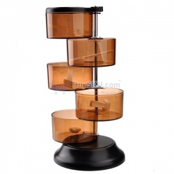 5-Layer 360 degree rotating creative blends flavors the box приспособа для приправ