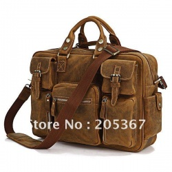 7028B rare crazy horse leather men's tote with briefcase laptop bag business bag или есть ли кожа на али?