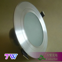 7W led downlight ,3.5,700lm, smd5630