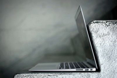 Apple запатентовала дизайн тонкого ноутбука