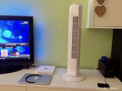 Башенный вентилятор - лучшая покупка лета