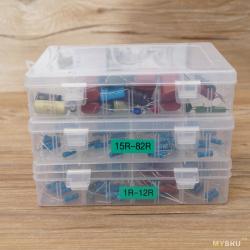 Бюджетные коробочки для хранения всякой мелочи, на 10 и 24 отделении