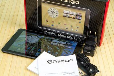 Большой планшет – большие возможности. prestigio multipad muze 5001 3g: комплектация, цена, цвета.
