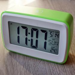 Часы-будильник с термометром и записью звука. мечта фермера