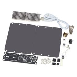 Часы – конструктор на высокоточном (extremely accurate i2c) чипе ds3231