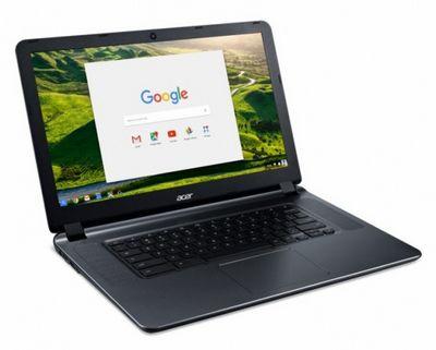 Chromebook 15 компании acer стал больше и более доступным чем когда-либо
