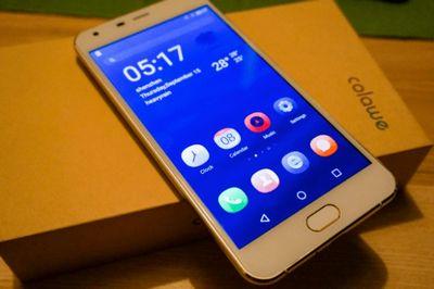 Colawe rio w550 — смартфон с amoled-экраном и сканером отпечатков пальцев за $130