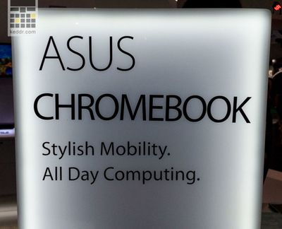 [Computex 2014] asus chromebook c200 и c300 [видео]