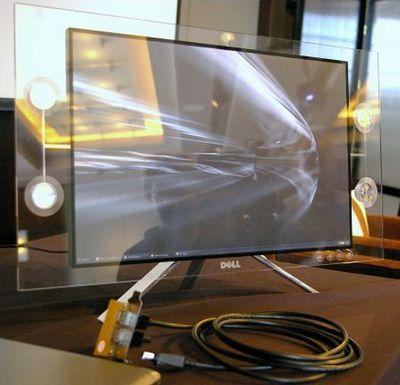 Dell представил жк-монитор будущего. фото