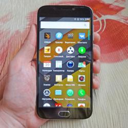 Doogee x9 pro 4g фаблет: простой и функциональный смартфон с презентабельным внешним видом.