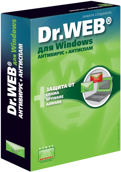 Dr. web антивирус + антиспам: ещё больше функций