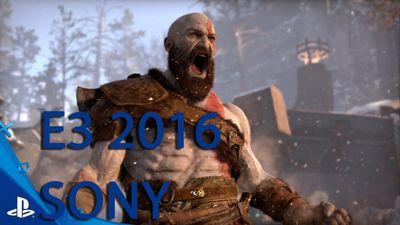 E3 2016. пресс-конференция sony