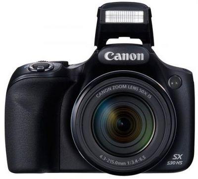 Фотокамера canon powershot sx530 hs: 50-кратный зум, wi-fi и nfc
