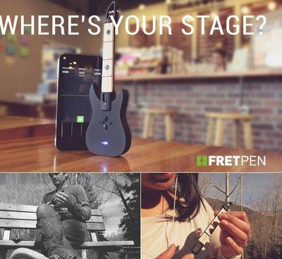 Fretpen – миниатюрная гитара для iphone