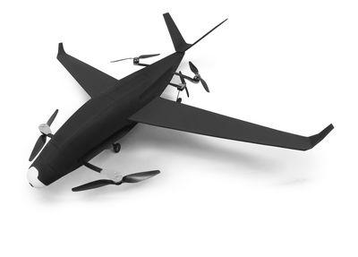 Гибридный квадрокоптер skyprowler (3 фото + видео)