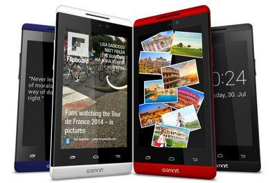 Gigabyte показала 4 новых устройства линейки gsmart