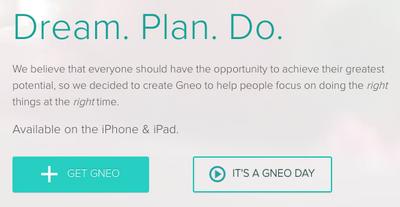 Gneo: планировщик на iphone и ipad