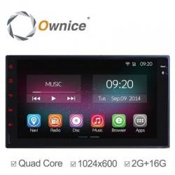 Головное устройство aka 7 2 din магнитола ownice c200-ol-7001b (n) на android 4.4 с 2/16 гб памяти