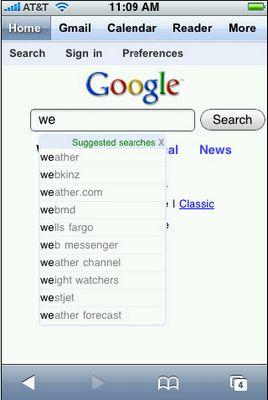 Google упаковали в iphone
