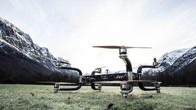 Griff 300 — дрон-перевозчик с грузоподъемностью 225 кг (видео)