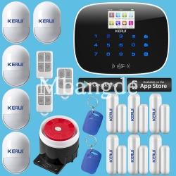 Gsm сигнализация с большим разнообразием датчиков kerui g19