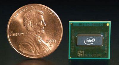 Intel впервые выпустил чипы для мобильников