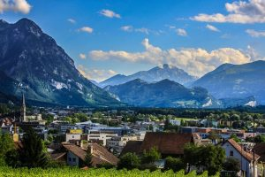 Экскурсия по городу вадуц (лихтенштейн)