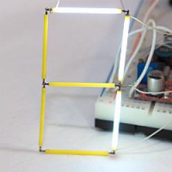Эксперименты с нитевидными светодиодными сборками (filament cob led)