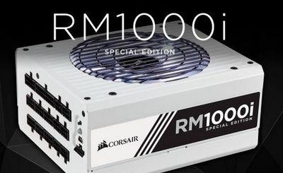 Юбиленые блоки питания corsair rm1000i special edition выпущены тиражом 100 штук