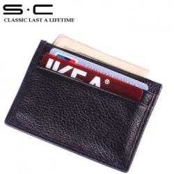 Качественная кредитница из натуральной кожи от китайского бренда s.c