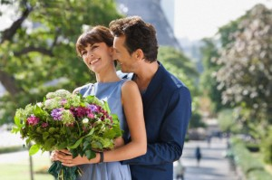 Какие цветы подарить девушке на первом свидании