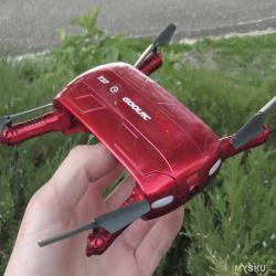 Карманный wi-fi квадрокоптер goolrc t37 - селфи дрон