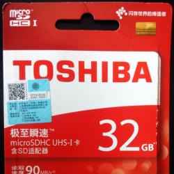 Карта памяти microsdhc toshiba exceria uhs-i u3 m302 32gb