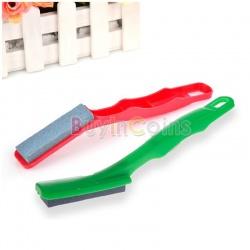 Knife sharpener one side scissors grinder stone home kitchen sharpening tool