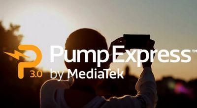 Компания mediatek представляет технологию pump express 3.0 для быстрой зарядки