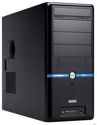 Компьютер в корпусе из картона