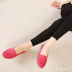 Красные мокасины «весна беременных женщин»