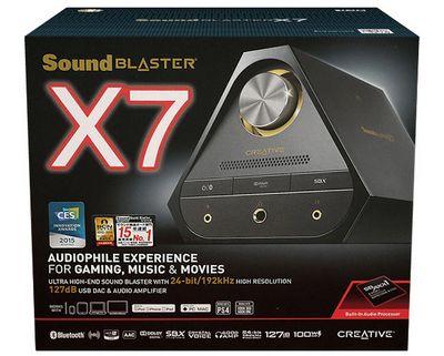 Креативное звучание: тестирование внешней звуковой карты creative sound blaster x7