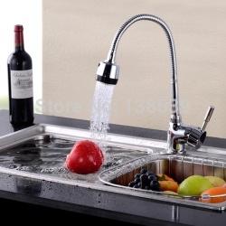 Кухонный кран с гибким изливом