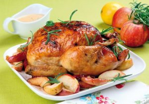 Курица с яблоками: как приготовить