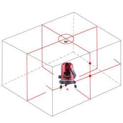Лазерный осепостроитель на 5 линий и 3 точки