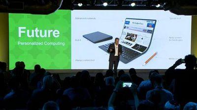 Lenovo представила видение того, как будет выглядеть thinkpad будущего