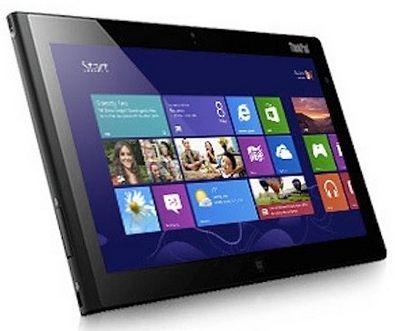 Lenovo рассекретила свой первый планшет на windows 8