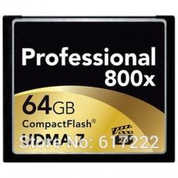 Lexar 120mb/s 64gb 800x compactflash (cf) card