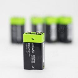 Литиевый аккумулятор 9v 400mah с usb-входом для зарядки znter