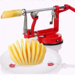 Машинка для нарезания яблок (и других фруктов/овощей) 3 в 1. чистим, нарезаем, заготавливаем впрок яблочные чипсы