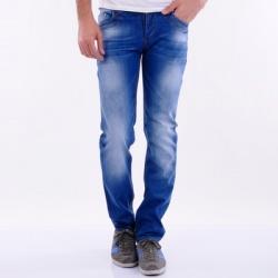 Men's jeans denim pants classic slim fit lycra low rise cotton regular basic 526 / отличные джинсы из турции за 2 дня.