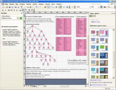 Microsoft office visio 2007: теперь и на русском языке